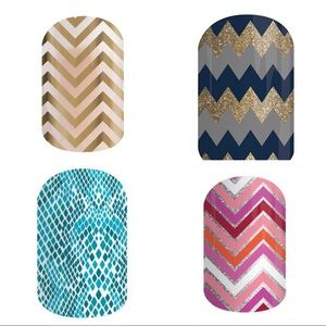 Jamberry Lot of 4